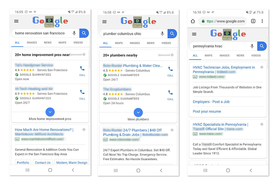 Google My Business Local Ad